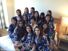 getting ready,indian bridesmaids,indian bride