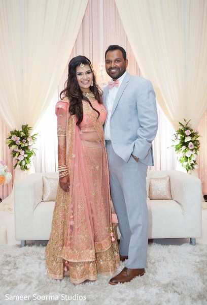 india bride,indian groom,indian wedding photography,reception fashion