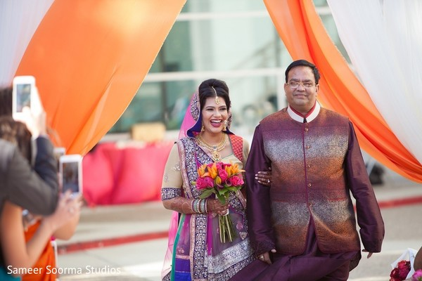 india wedding ceremony,floral and decor,india bride