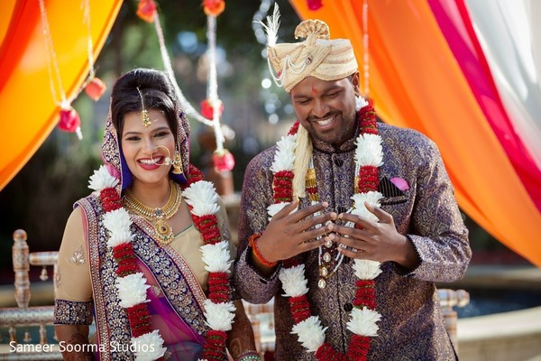 india wedding ceremony,floral and decor,indian bride,indian groom