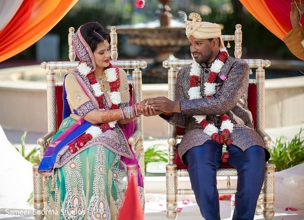 Sweetest Indian couple. in Redwood City Indian Wedding by Sameer Soorma Studios