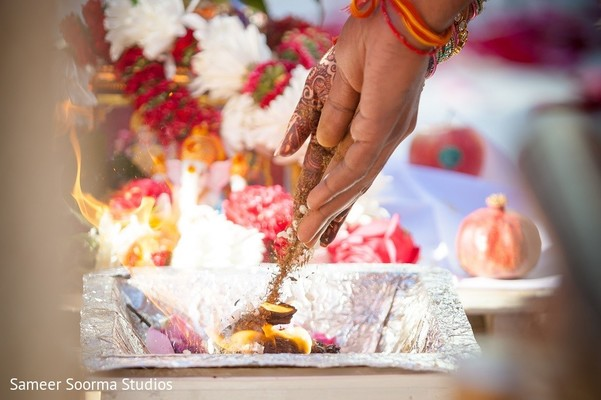 india wedding ceremony,floral and decor,agni