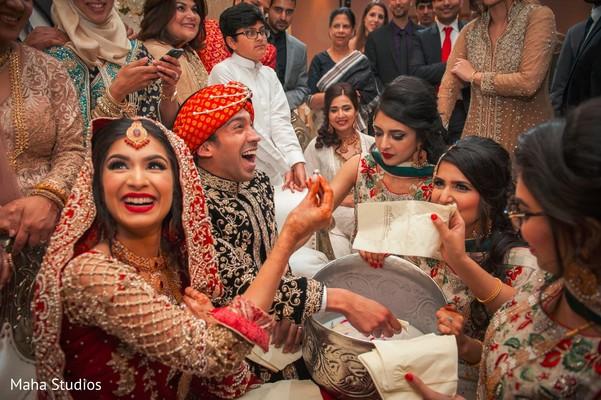 Indian bride found her wedding ring at wedding reception