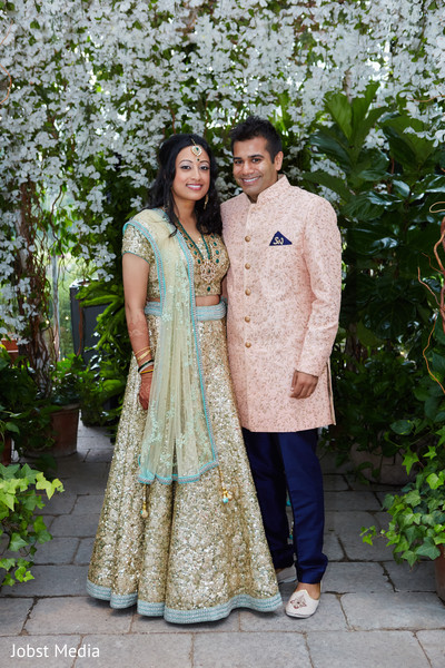 indian groom,indian bride,reception fashion