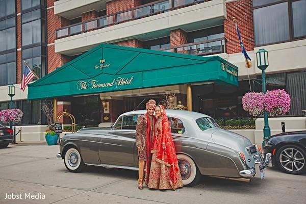 indian groom,indian bride,transportation