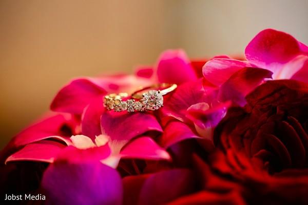 Luxury wedding rings.