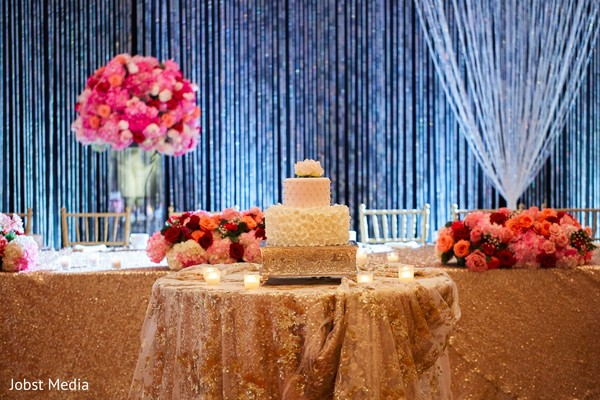 indian wedding reception,indian wedding cake,floral and decor