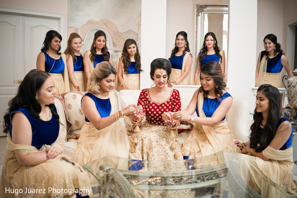 indian bride fashion,indian bridesmaids' fashion