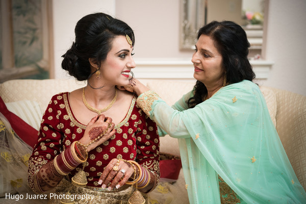 indian bride hair and makeup,indian bride getting ready