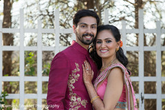 Indian couple photoshoot after sangeet ceremony