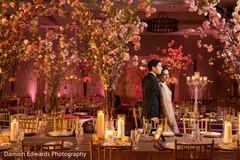indian wedding reception decor,lightning,indian groom suit