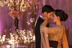 indian wedding reception photography,table centerpieces,indian bridal makeup