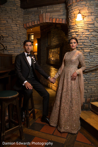indian bride and groom,pre-wedding reception photography,indian bride fashion
