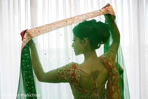 Drop-dead gorgeous bride's fashion. in CA Indian Wedding by SixtyFirstProductions