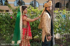 indian bride,indian groom,ceremony fashion,first look photography