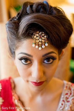 indian bride,portrait,indian bride hair and makeup