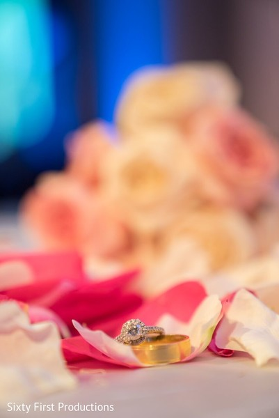 Sweet wedding ring photo.