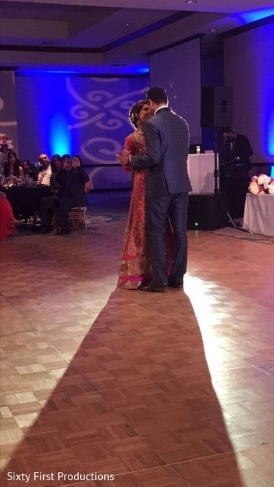 Sweet first dance capture. in CA Indian Wedding by SixtyFirstProductions