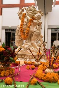 sangeet,floral and decor,pre- wedding celebrations,garba