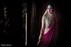 indian bride portrait,ceremony fashion