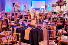 indian wedding reception photography,table centerpieces,indian wedding reception floral and decor