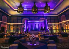 indian wedding reception decor,lightning