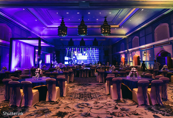 lightning,indian wedding reception decor