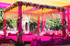 indian wedding ceremony floral and decor,indian wedding mandap