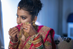 indian bride hair and makeup,bridal jewelry
