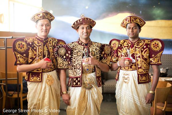 Sri lankan groom