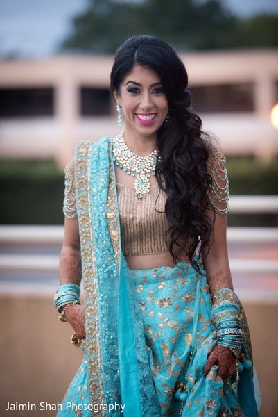 indian bride,reception fashion,portrait
