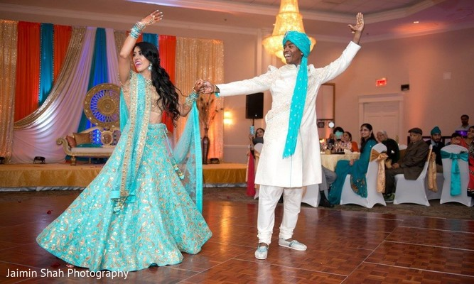 indian wedding reception,indian groom,indian bride,choreography,dj and entertainment