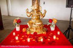 Ganesha altar.