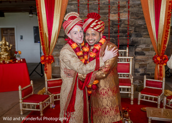 indian wedding,wedding mandap,same sex wedding,gay wedding