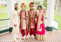 same sex wedding,gay wedding,indian wedding photography,pink and gold sari