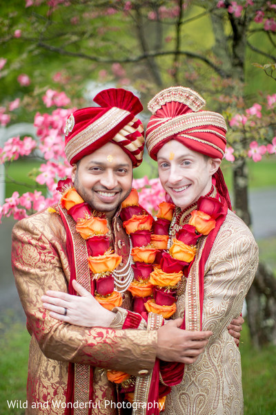 same sex fusion wedding,gay wedding,indian gay wedding