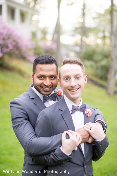 same sex indian fusion wedding,gay wedding,gay couple