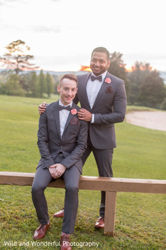 matching wedding outfits,indian reception fashion,gay wedding