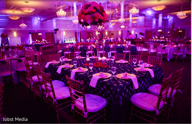 lightning,indian wedding reception,indian wedding reception floral and decor,table centerpieces