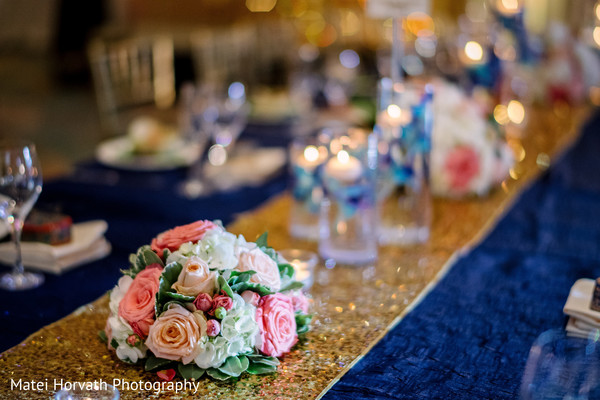 floral centerpieces,indian wedding reception floral and decor,indian wedding reception