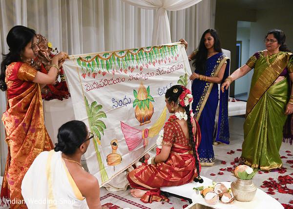 indian wedding ceremony,indian bridesmaids,indian bride hair and makeup