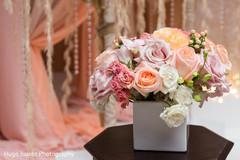 indian wedding reception,reception portraits,reception details,indian reception details,floral details,floral design,candles,reception candles,reception decor,reception design,reception florals