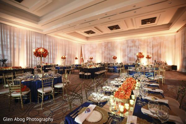 Stunning indian wedding reception decor