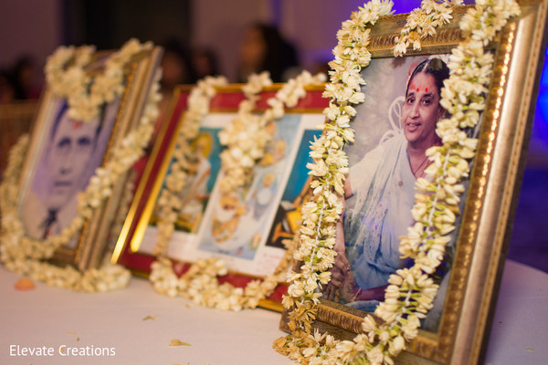 Indian wedding memorial table. in Atlanta, Georgia Indian Wedding by Elevate Creations