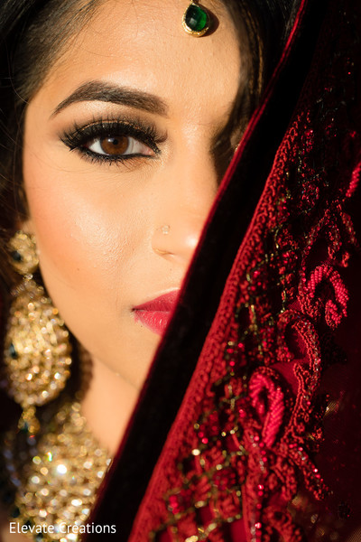 indian bride,indian bridal makeup,portrait