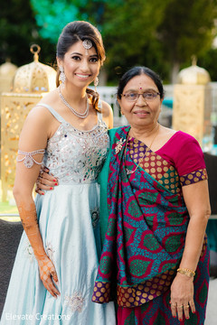 indian bride,pre- wedding celebrations,mehndi party,portrait