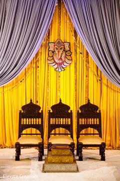 pre- wedding celebrations,stage,indian wedding ceremony