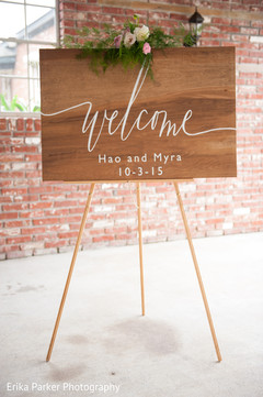 indian wedding sign,indian wedding ceremony floral and decor