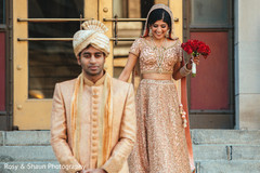 indian couple,first look,indian wedding first look