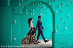 Pre indian wedding reception photo shoot
